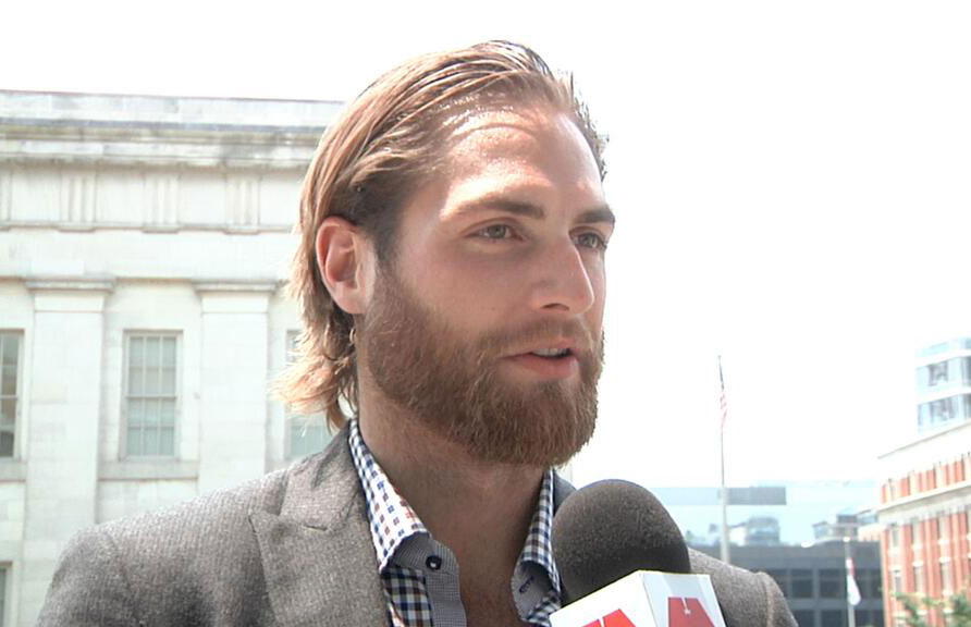 Braden Holtby Wife Have Second Child Belle Scarlett Holtby Rmnb
