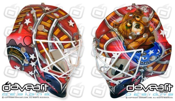Braden Holtby New Mask
