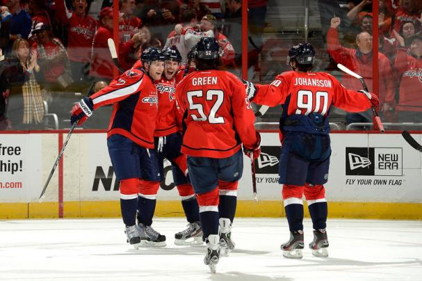Brouwer conservatively celebrating his goal