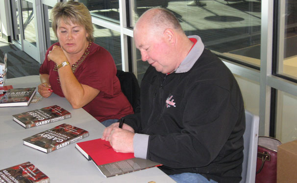 Bruce Boudreau Book Signing