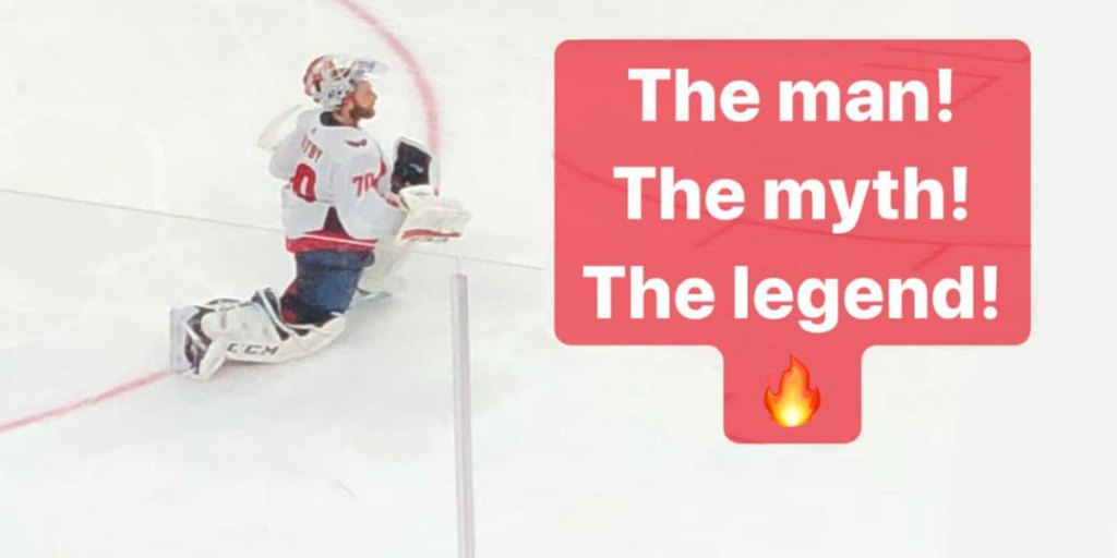 Bryce Harper Pays Tribute To Braden Holtby On Instagram Story
