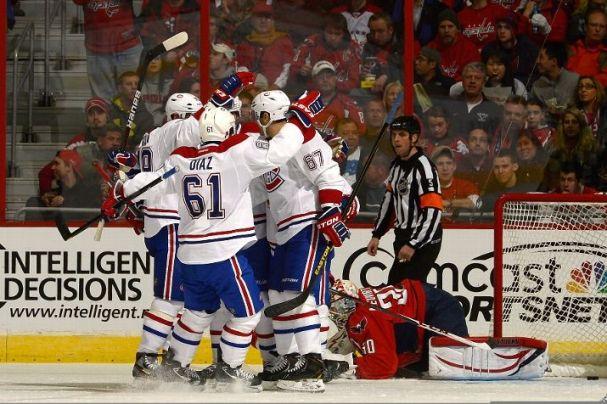Canadiens destroy Caps 4-1