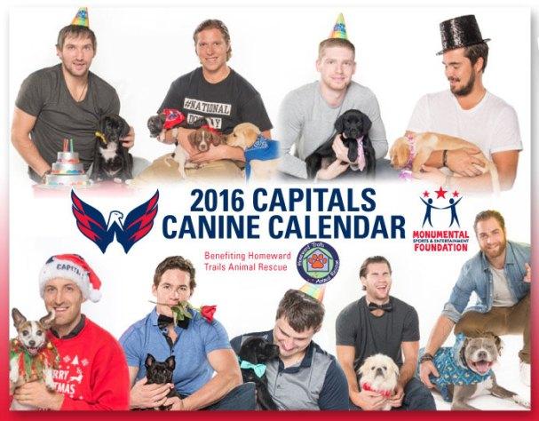 Caps Dog Calendar