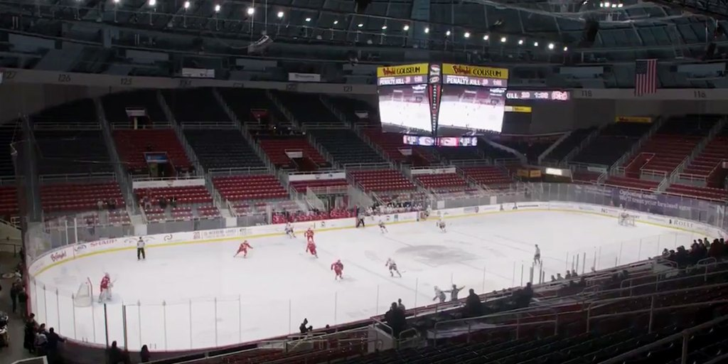 Image result for empty hockey arena