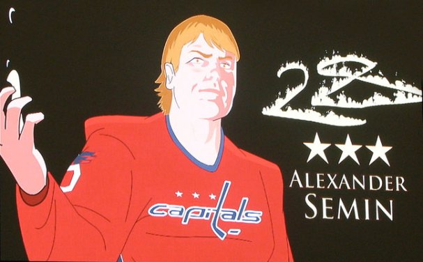As close as we could get to Alex Semin in a Fantasy!