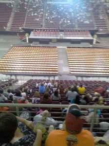 Cumberland Valley High's Class of 2010 Graduation Ceremony will have to wait.  The Bears are still playing.