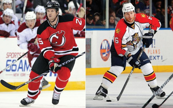 George McPhee brought in two veterans, Jason Arnott and Dennis Wideman into the fold today