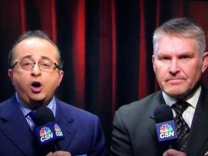 Joe B suit of the night: Statler and Waldorf