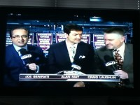 Joe B. Suit of the Night (Who's that guy in the middle?)