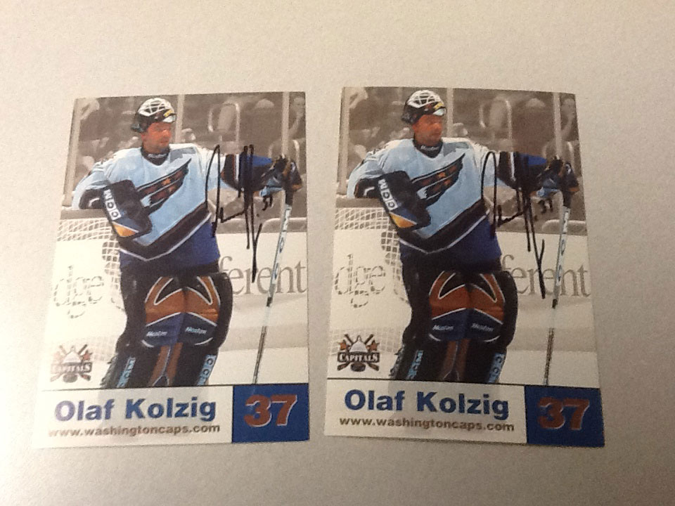 RMNB on CRL  Reliving Olie Kolzig s Caps Commercial 0d882f459afc