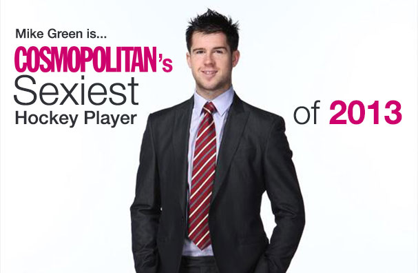 Mike Green is Cosmo's Sexiest Hockey Player of 2013