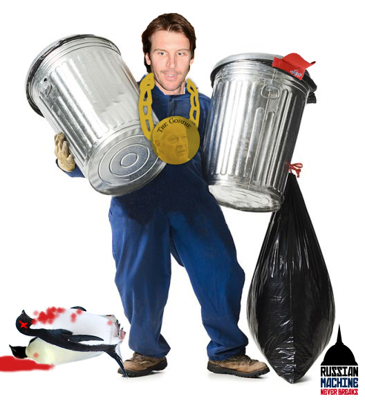 Fight, assist, goal: Garbage Man Mike Knuble Finds Himself a Gordie While Taking Out the Trash.