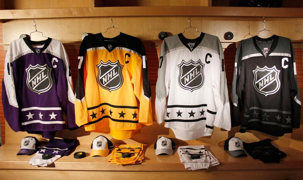 NHL releases jersey designs for the 2017 All-Star Game 81965bc0efb