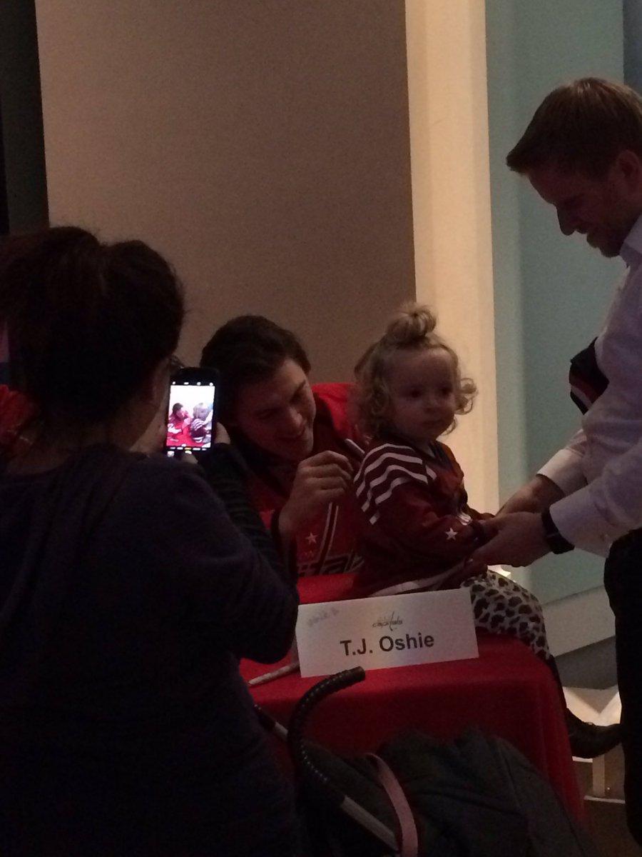 oshie-baby-signing
