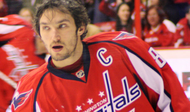 Alex Ovechkin - Captain for the first time against Montreal