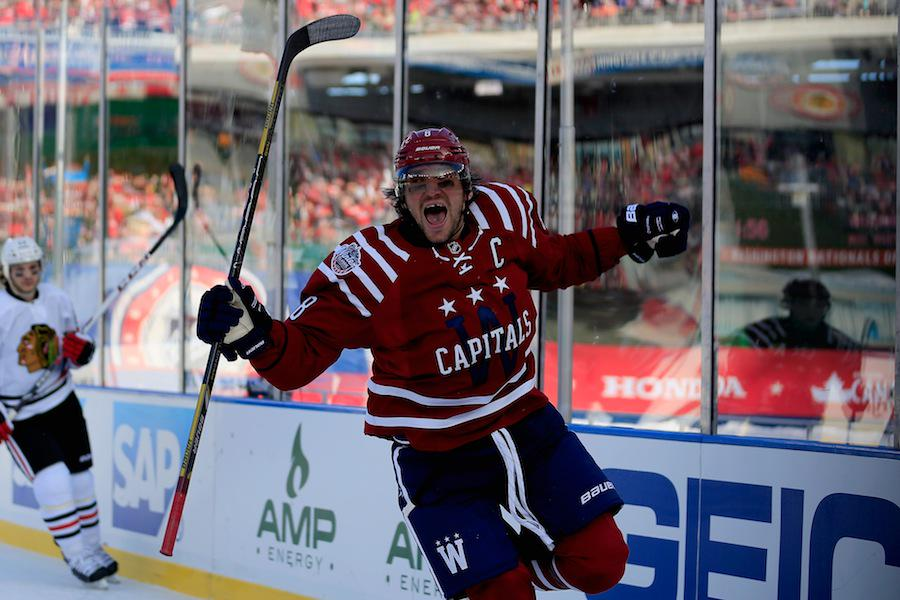 c3f08afa0 Alex Ovechkin Scores First Winter Classic Goal