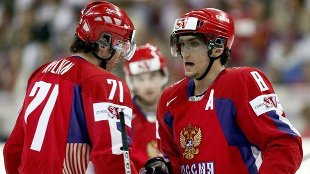 Evgeni Malkin Moved to the First Line For Team Russia, Will Center Alex Ovechkin and Alex Semin