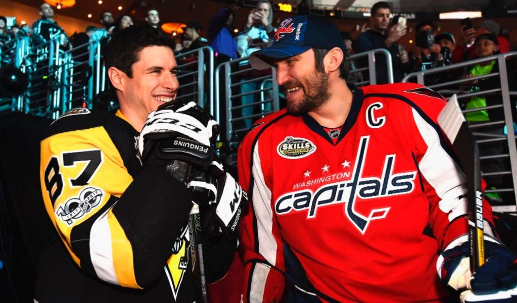 watch eaea5 c001e Alex Ovechkin and Sidney Crosby will play on the same line ...