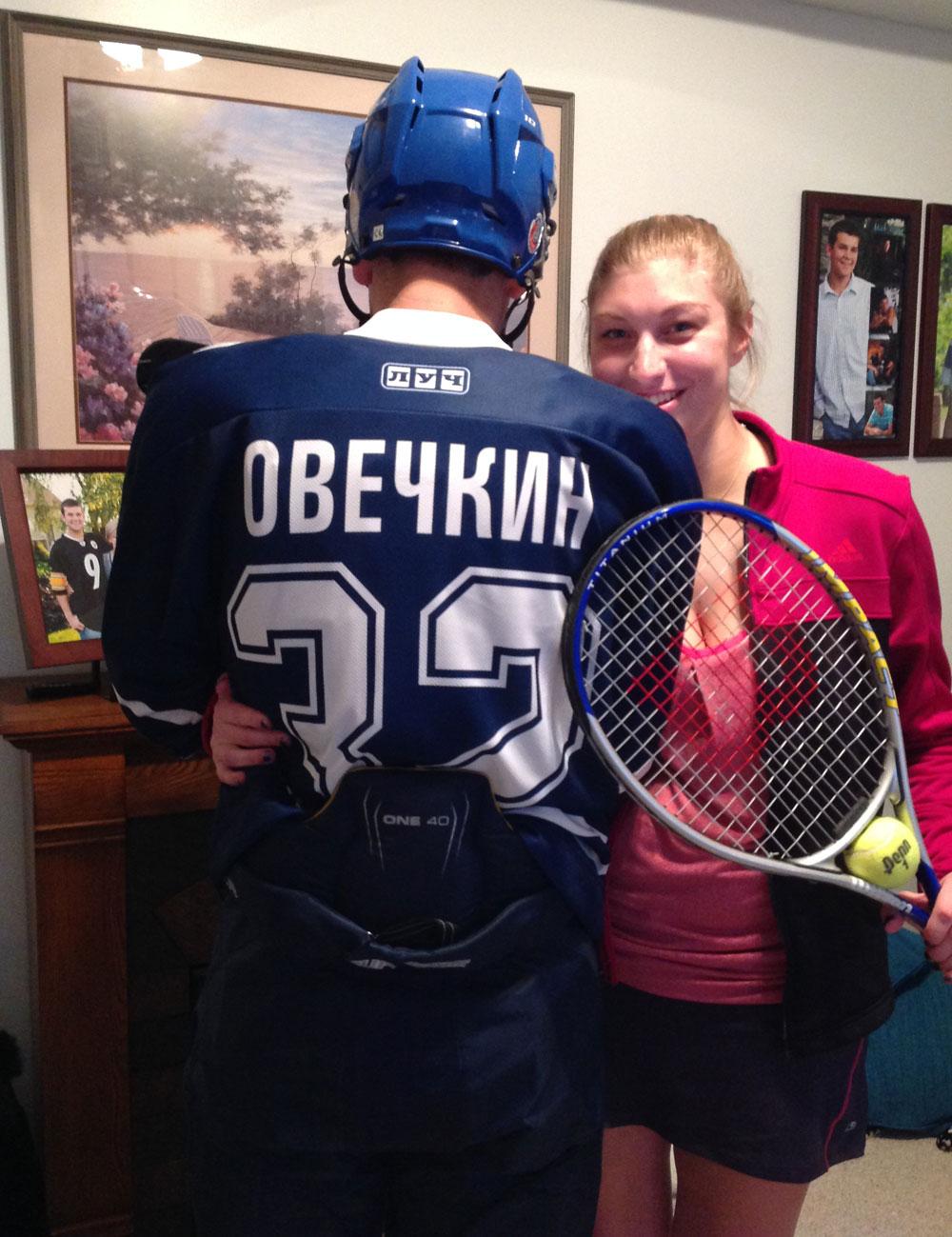 Maria kirilenko dating alex ovechkin jersey