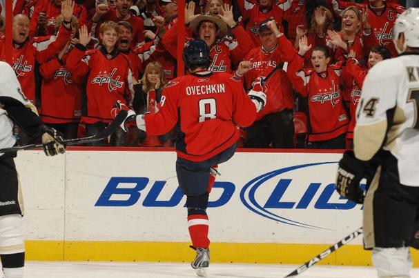 Alex Ovechkin Gets Hat Trick Against Penguins