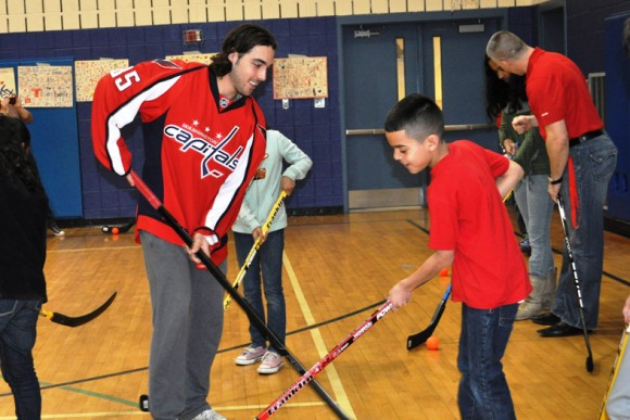 perreault with kids