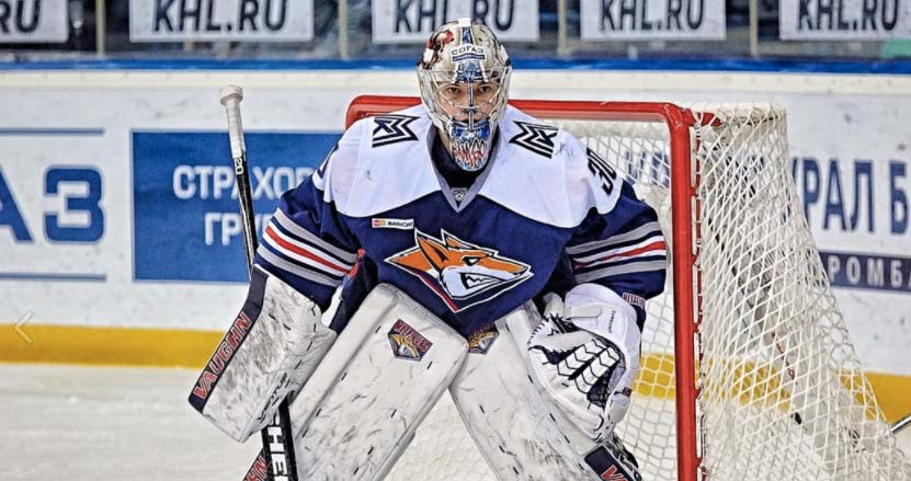 Ilya Samsonov and Metallurg up 1-0 in first round of KHL playoffs. Caps  goalie prospect ... 5c93e9dde9e9