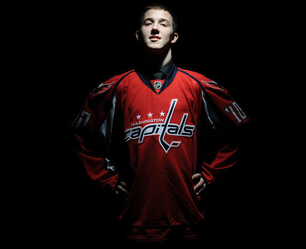 The Washington Capitals Third Round Pick Stanislav Galiev