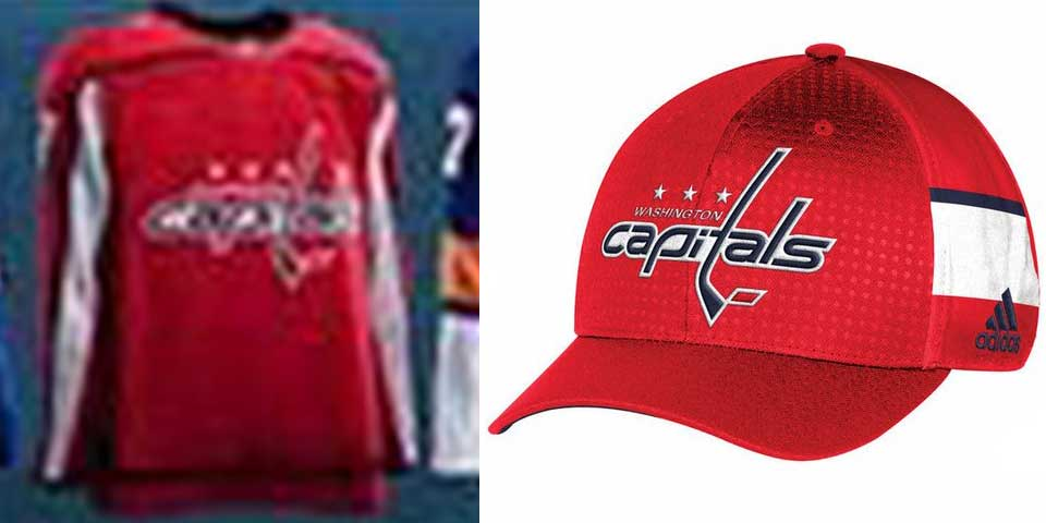 08f494de295a5 New Washington Capitals jersey and hat designs leak before official Adidas  launch