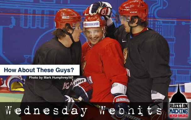 Wednesday Webhits - Who's going to bring home the Gold