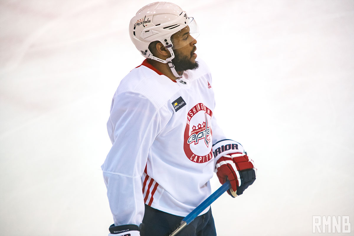 Smith-Pelly to skip White House visit if Caps win Cup