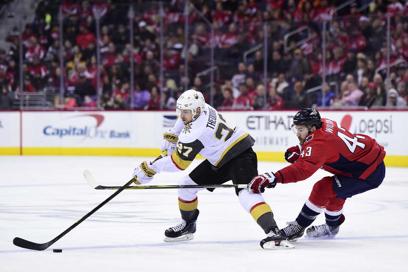 Caps' suffocating pressure frustrating Golden Knights as Washington leads series 2-1