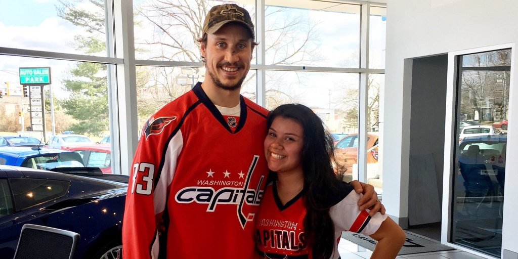 Jay Beagle leaves a lasting legacy in Washington through his kindness with  Caps fans f1ff062b283