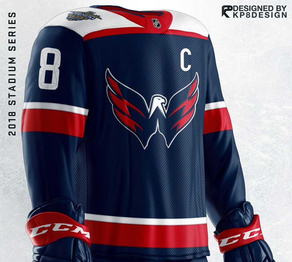 best service 882aa 3dd22 Caps fans want the Weagle as the primary logo on a jersey ...