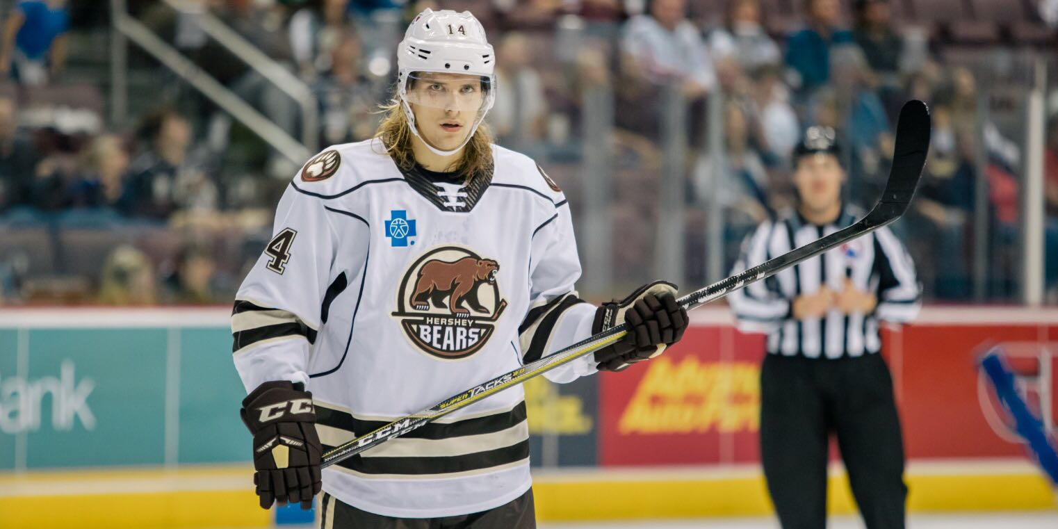 SHL: Report - Axel Jonsson-Fjallby Is Ready To Return To Djurgården After Two Games In Hershey (Updated)