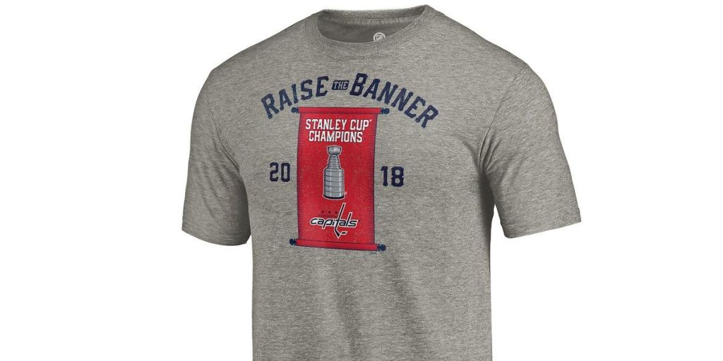 best sneakers 7bec2 6d0ed The Capitals are selling banner-raising shirts and new ...