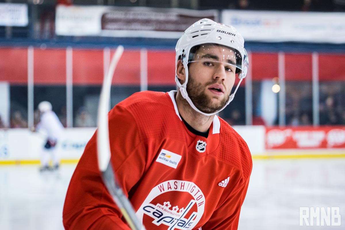 Tom Wilson Will Be A Game Time Decision Michael Sgarbossa Re Assigned To Capitals Taxi Squad