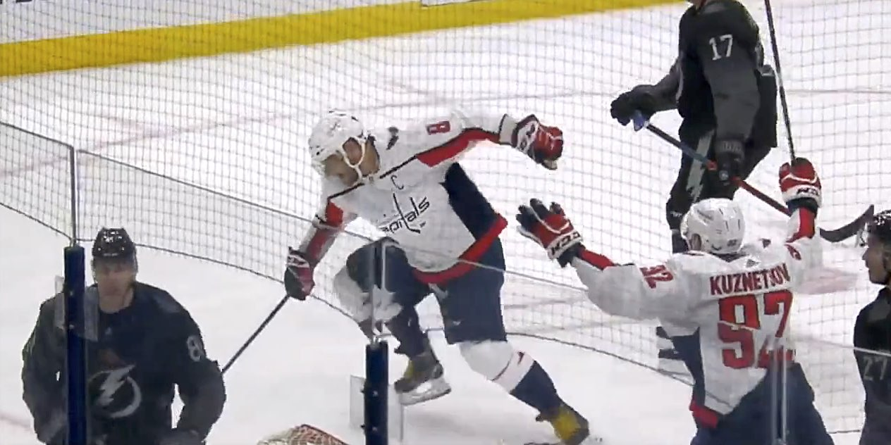 Alex Ovechkin cleans up rebound for 48th goal of season 8558854e03a34