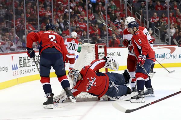 TJ Oshie Injury Could Doom Caps Against Hurricanes