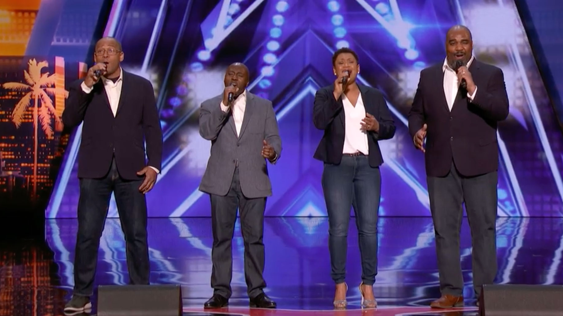 Caleb Greens Music Group Voices Of Service Advances To Next Round On Americas Got Talent