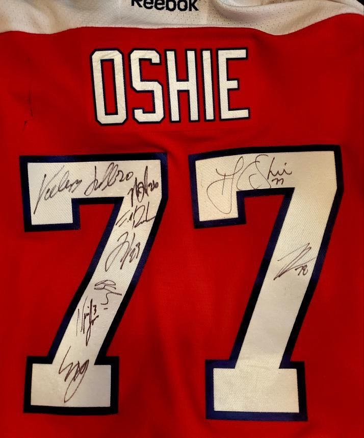 newest cc8b8 5e541 I thought she was going to faint': TJ Oshie surprises Caps ...