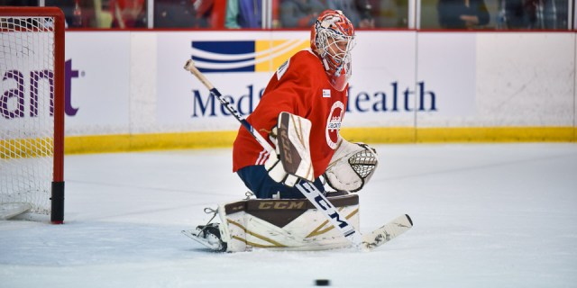 Ilya Samsonov says Braden Holtby's contract situation is 'very difficult for him'