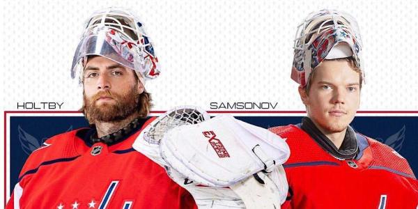 Ilya Samsonov will back up Braden Holtby as Capitals place Pheonix Copley on waivers