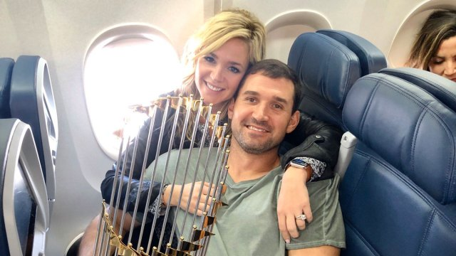 Ryan Zimmerman's wife Heather announces she is pregnant with couple's first boy