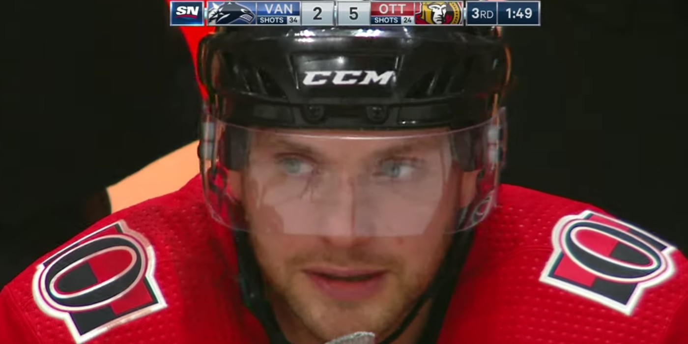 In Recovery And Back In Action Bobby Ryan Scores Hat Trick In
