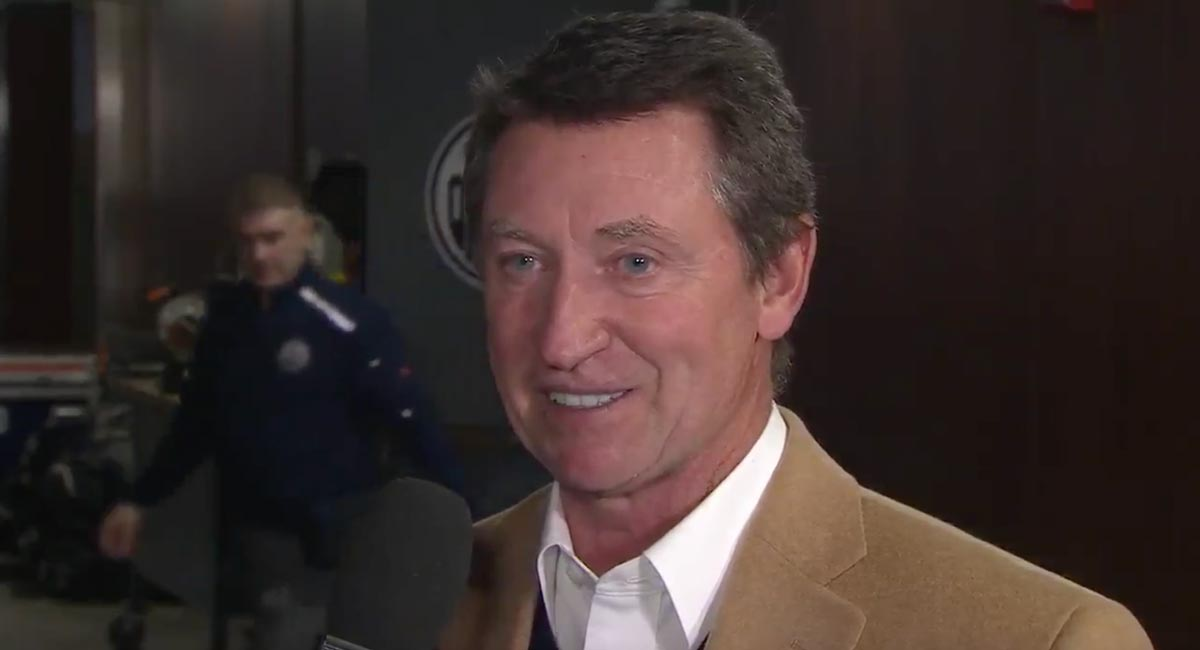 Wayne Gretzky thinks Alex Ovechkin has a 'legitimate chance' to break his goals record