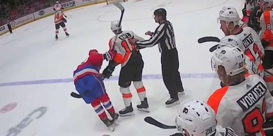 Tom Wilson Violence Report Wrecked A Guy Got Speared In Privates Fought A Guy