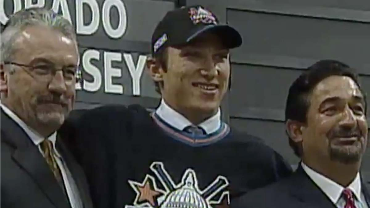 On this day 16 years ago, the Washington Capitals selected Alex Ovechkin with the first overall pick in the 2004 NHL Draft