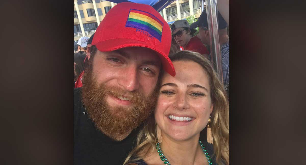 The Story Behind How Braden Holtby Ended Up Wearing A Pride Hat The Day The Capitals Swam In The Fountains Rmnb