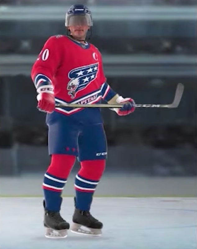Washington Capitals release design of new Reverse Retro jersey ...