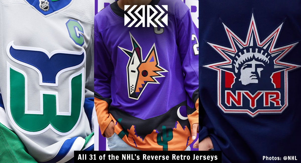 Every Nhl Team S Reverse Retro Jersey